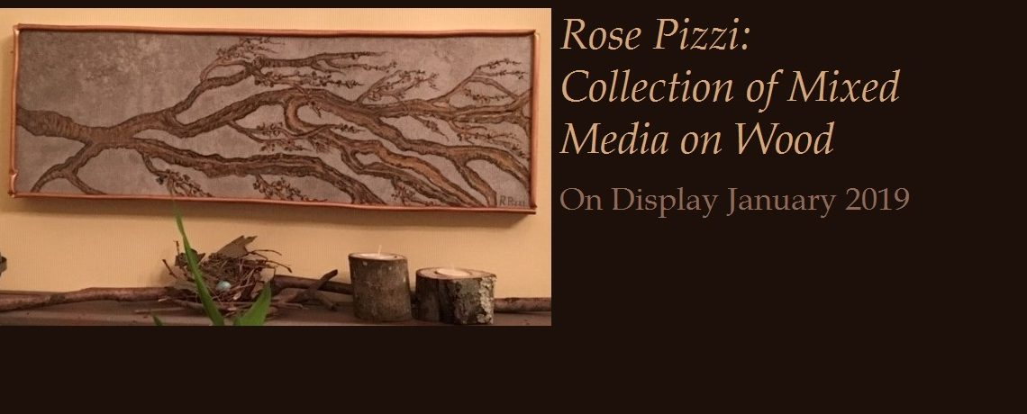 Rose Pizzi: Collection of Mixed Media on Wood