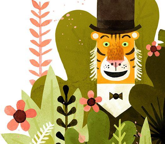 Mr. Tiger Goes Wild Art Class: Grades preK 4 – 2