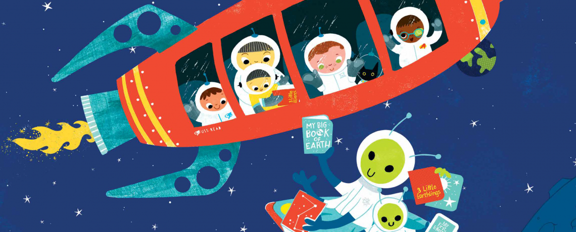 Summer Reading for Kids and Adults: A Universe of Stories