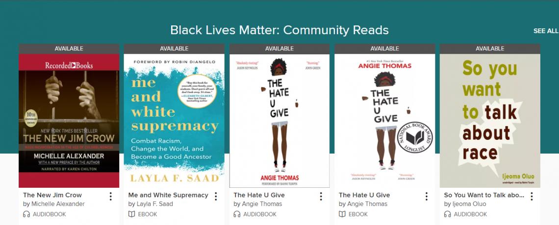 Black Lives Matter: Community Reads