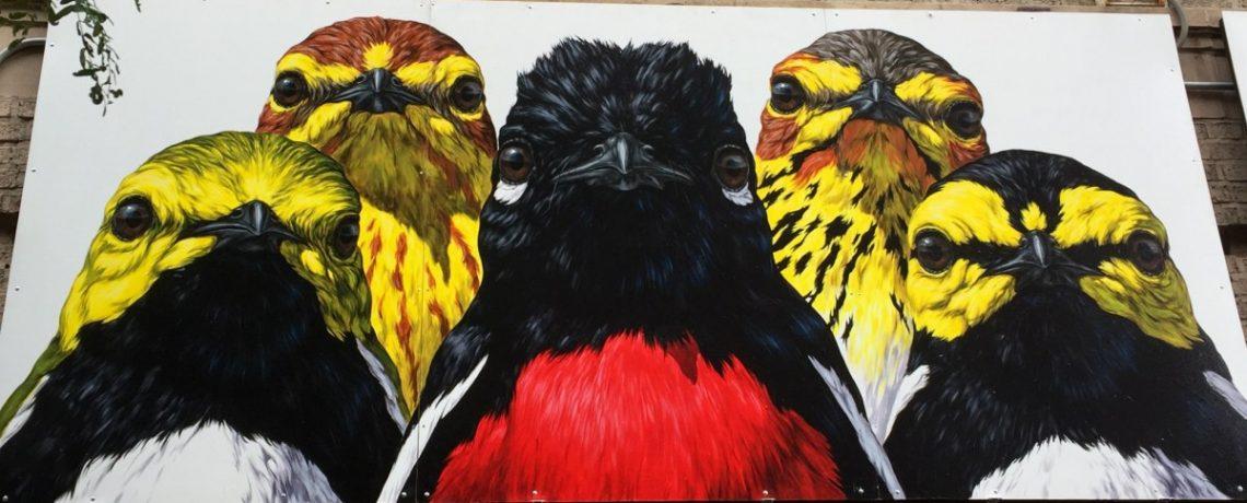 The Audubon Mural Project: A Virtual Walking Tour